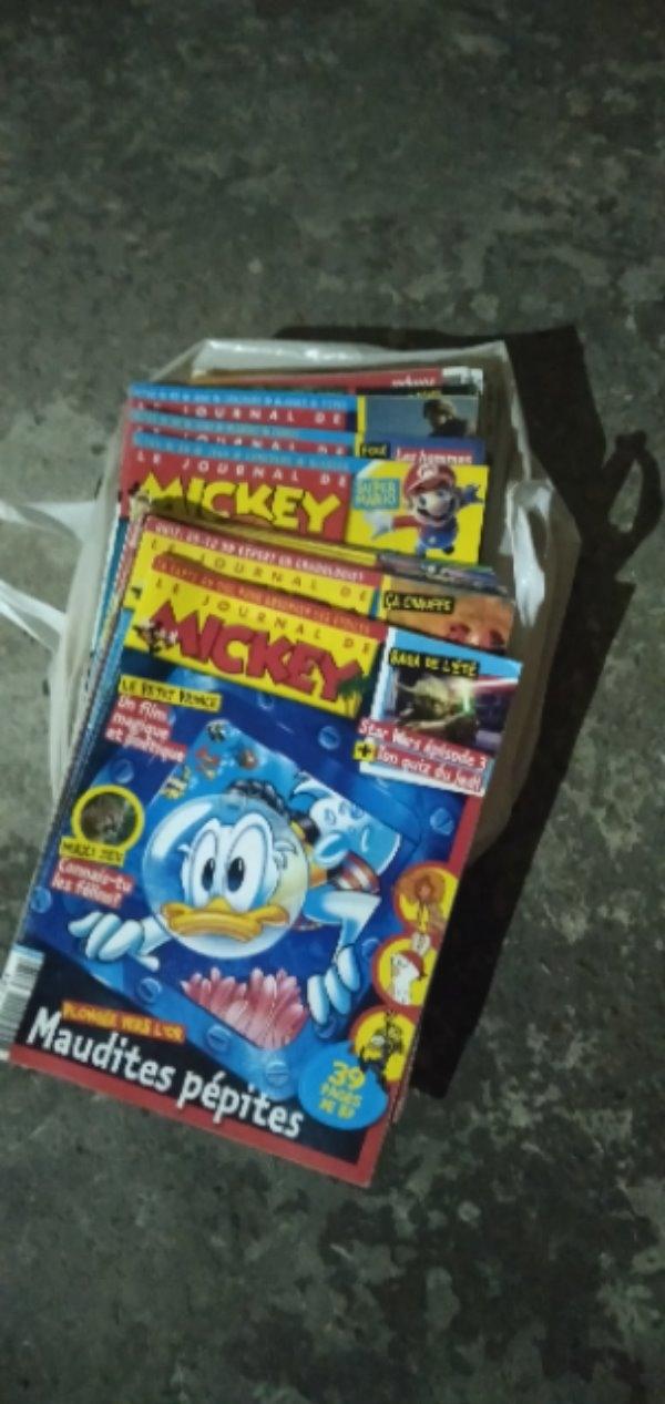 Recyclage, Récupe & Don d'objet : lot de magazines