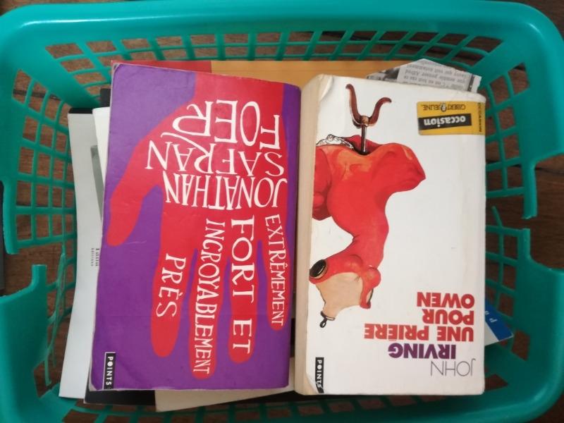 Recyclage, Récupe & Don d'objet : lot de 20 livres roman- histoire- essais p...