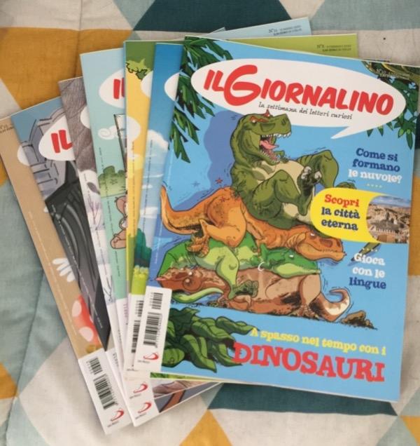 Recyclage, Récupe & Don d'objet : 10 magazines jeunesse en italien