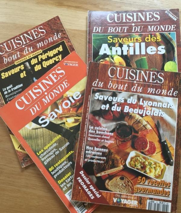 Recyclage, Récupe & Don d'objet : magazines de cuisine cuisines du bout du m...