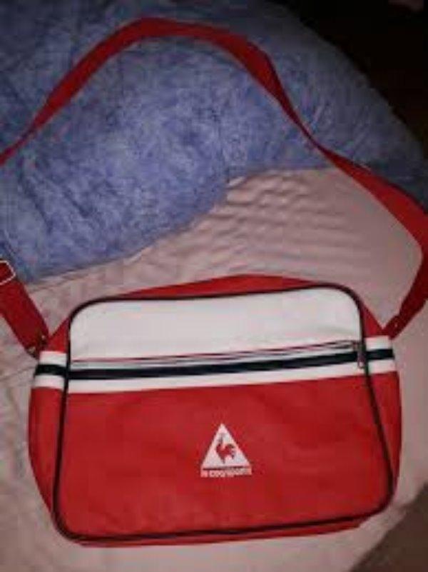 Recyclage, Récupe & Don d'objet : sac bandoulière alpa le coq sportif