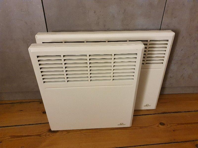 Recyclage, Récupe & Don d'objet : Lot de 2 radiateurs électriques 1250 + 750 W