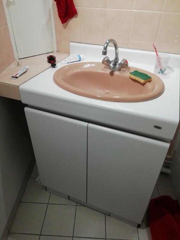 Recyclage, Récupe & Don d'objet : Meuble avec lavabo
