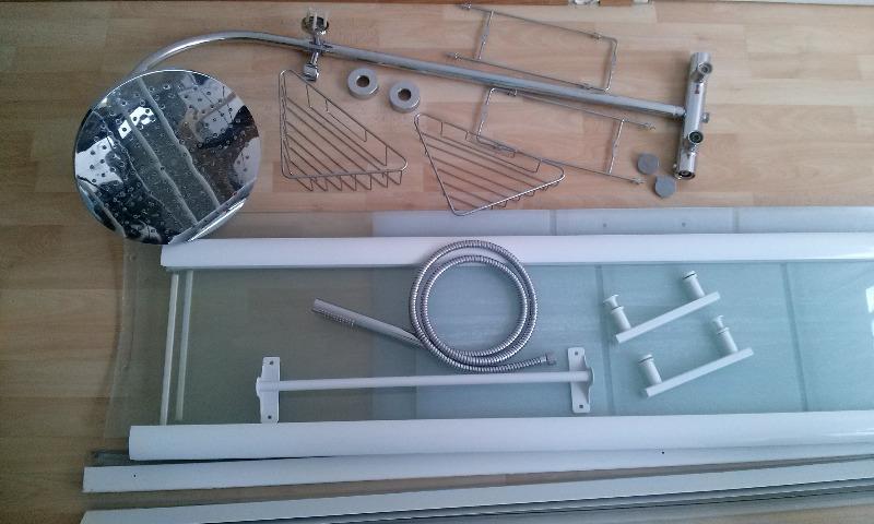 Recyclage, Récupe & Don d'objet : Colonne de douche Mitigeur thermostatique Douche...