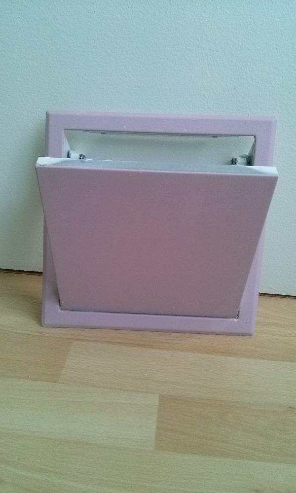 Recyclage, Récupe & Don d'objet : Plaque de fermeture clic-clac trou d'accès robi...