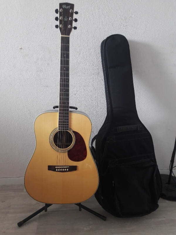 Recyclage, Récupe & Don d'objet : ma guitare cort earth 700