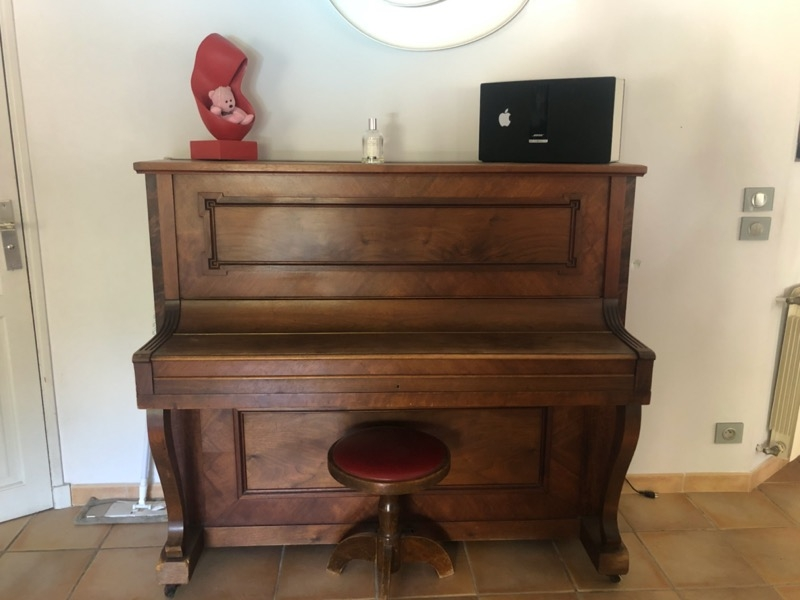 Recyclage, Récupe & Don d'objet : piano
