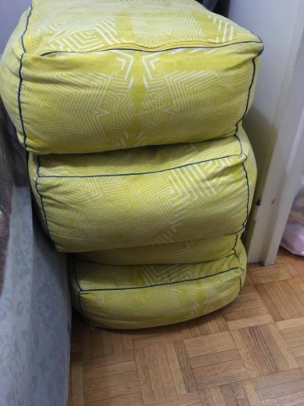 Recyclage, Récupe & Don d'objet : Pouf