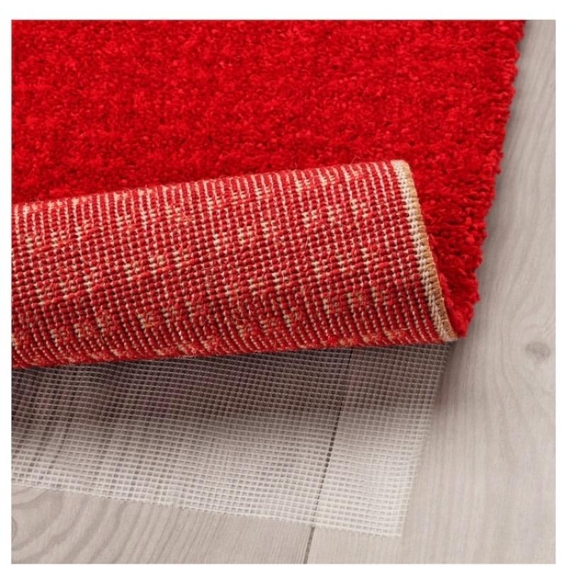Recyclage, Récupe & Don d'objet : Tapis rouge à poils ikea