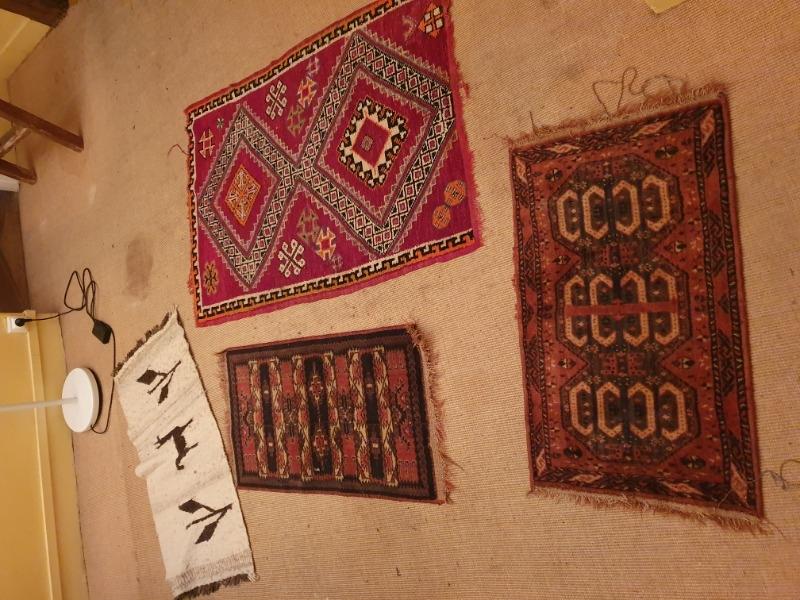 Recyclage, Récupe & Don d'objet : 4 tapis marocains et africain