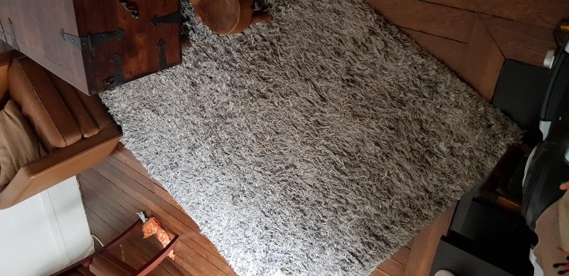 Recyclage, Récupe & Don d'objet : Tapis epais gris