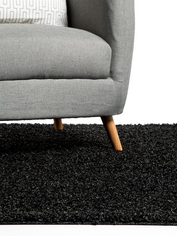 Recyclage, Récupe & Don d'objet : Tapis noir ikea
