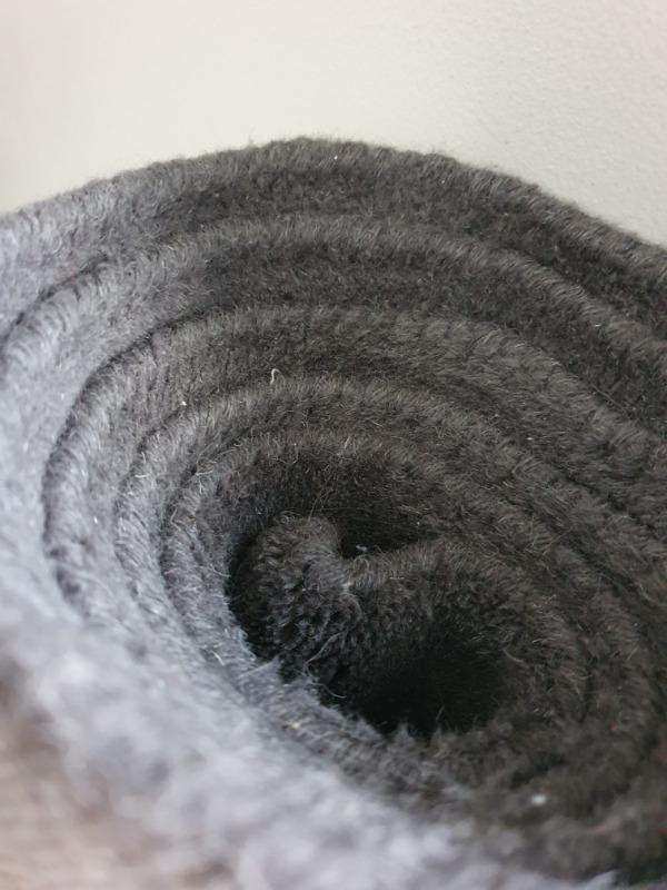 Recyclage, Récupe & Don d'objet : Tapis gris 160x230