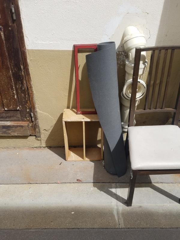 Recyclage, Récupe & Don d'objet : Rouleau de moquette