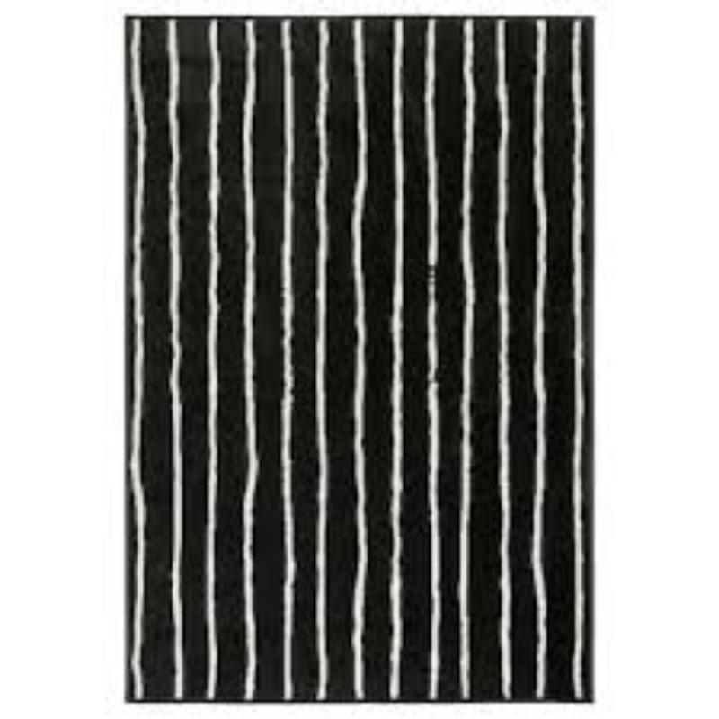 Recyclage, Récupe & Don d'objet : Tapis noir & blanc Ikea