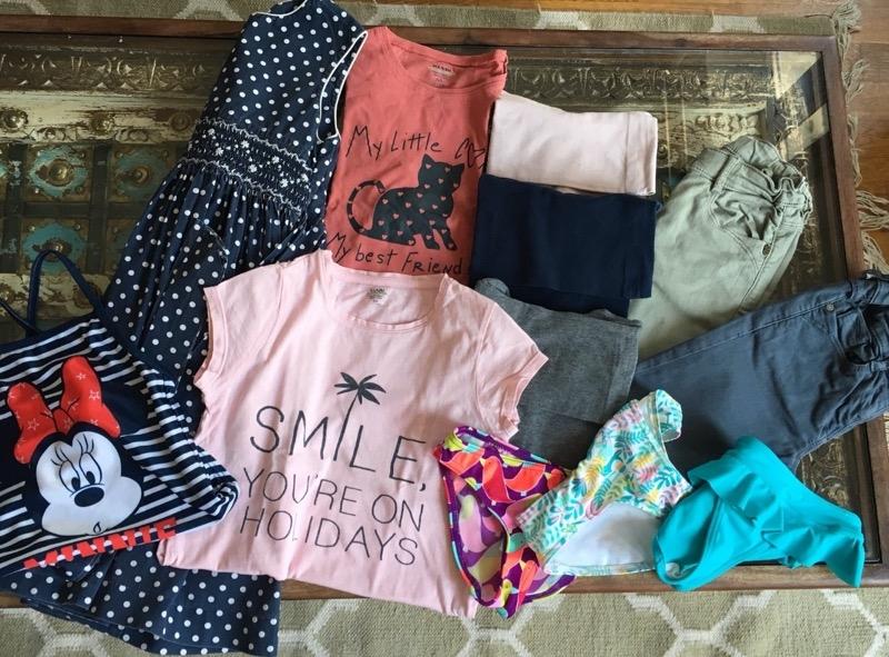 Recyclage, Récupe & Don d'objet : Vêtements fille 6 ans