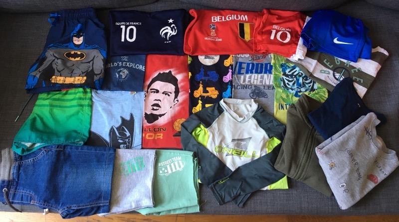 Recyclage, Récupe & Don d'objet : Vêtements garçon 6-8 ans