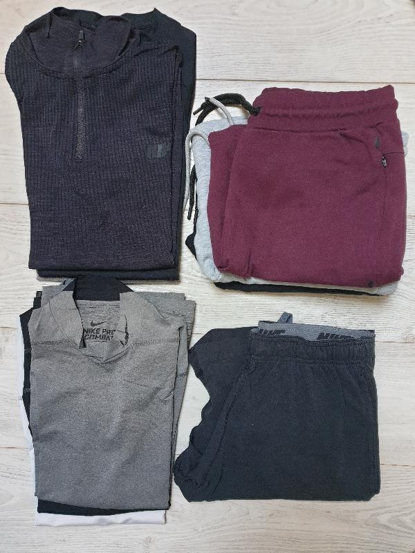 Recyclage, Récupe & Don d'objet : lot vêtements de sport - homme taille m